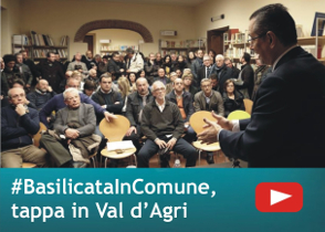 #BasilicataInComune, tappa in Val d'Agri